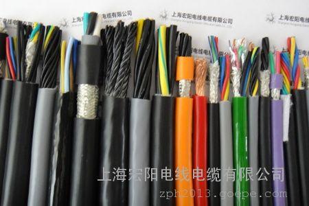 拖链电缆,线芯颜色区分拖链电缆,线芯分颜色拖链电缆