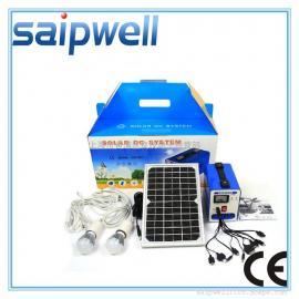 斯普威尔 P1206家用太阳能发电系统 小型太阳能发电 太阳能照明