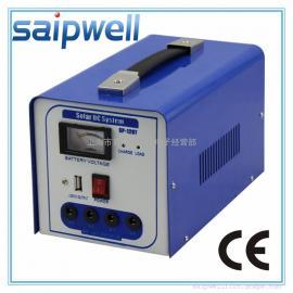 斯普威尔 小型太阳能发电系统 直流野外应急光伏发电 家用照明