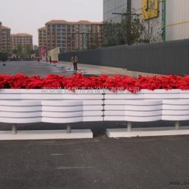 南京PVC组合花盆厂家PVC花箱|H-3-201组合花箱