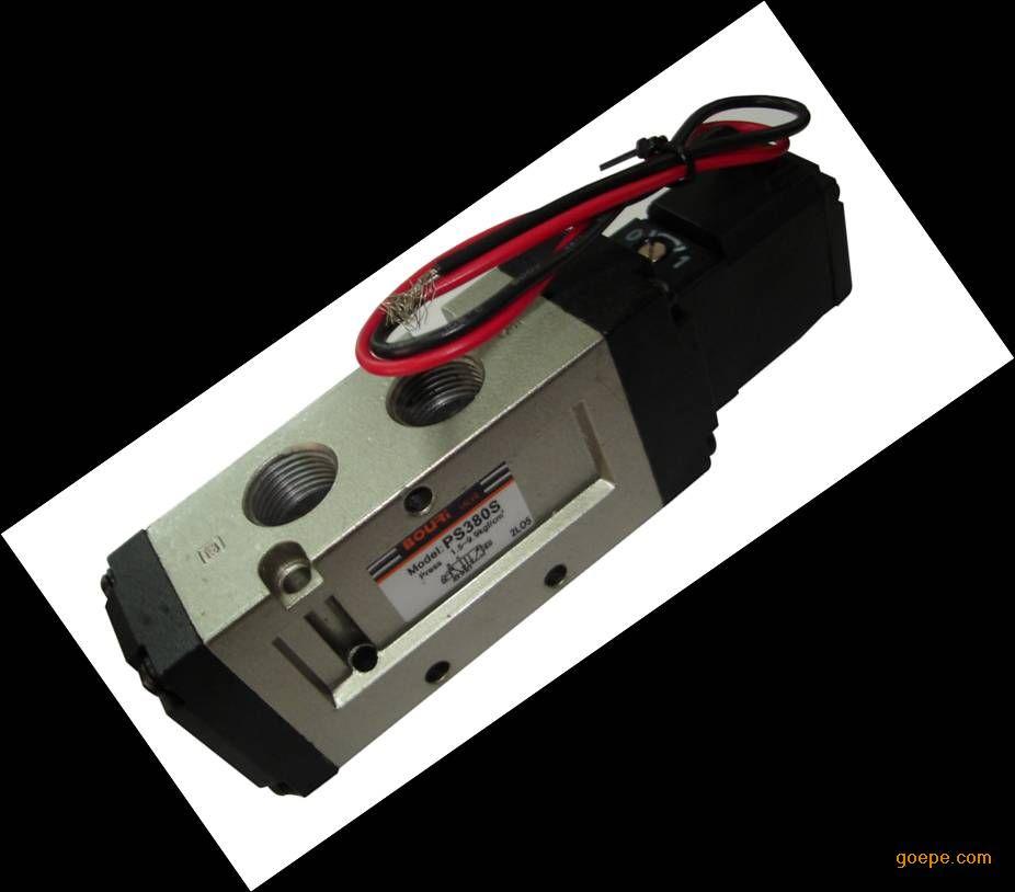 供应二位五通pmc双电控电磁阀图片