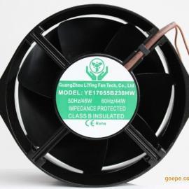 热销商用电磁炉电扇17255铁叶散热风机轴流风机