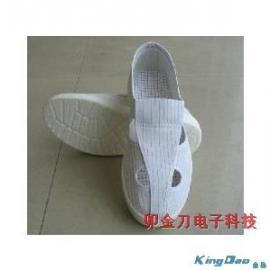 PU底防静电鞋|防静电四孔鞋|防静电四眼鞋 帆布 皮革