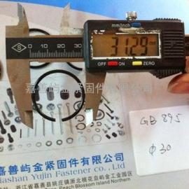GB 895.2-M30- 轴用钢丝挡圈 -包/100pcs