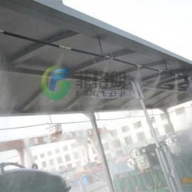 垃圾厂喷雾降温加湿除尘除臭设备
