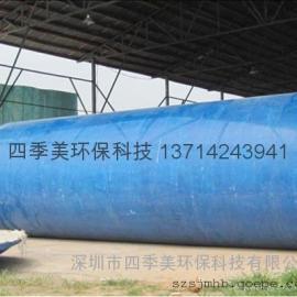 深圳环保三格化粪池池,成品玻璃钢化粪池