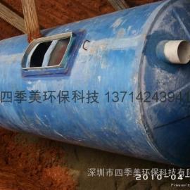 深圳惠州玻璃钢化粪池工厂直销,成品化粪池施工快