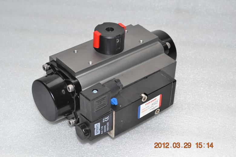 单电控二位三通电磁阀图片