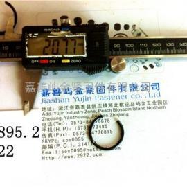 GB 895.2-M22- 轴用钢丝挡圈 -包/100pcs