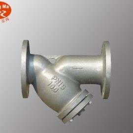 GL41H法兰式Y型过滤器,Y型法兰过滤器,铸钢Y型过滤器