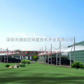 淮南、蚌埠停车棚、客运中心张拉膜工程