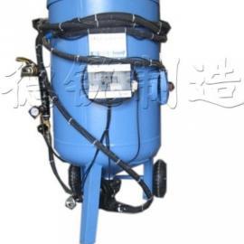 DR-4040P压入式移动喷砂机、通化喷砂机、通辽吹砂机