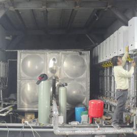 燃气并联系统 节能高效热水设备 浴池燃气壁挂炉 酒店热水器