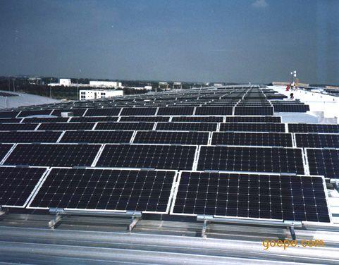 太阳能光伏电站土建施工支架安装工程