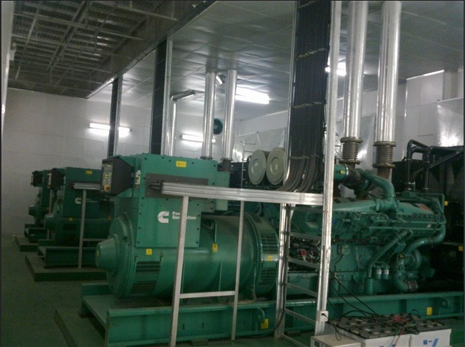发动机房噪声治理工程