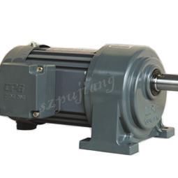 卧式标准/缩框单相铝壳刹车马达减速机