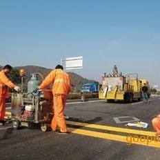 北京道路划线 热熔标线 冷漆划线打夯