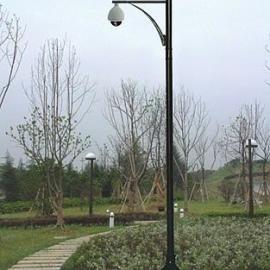 3-8米热镀锌监控球机杆宝林
