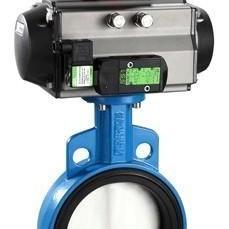 气动活塞式水处理专用调节切断阀HB2417
