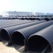 大同天镇县专业生产PE钢带管 缠绕排污管
