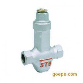 机械可调恒温式蒸汽疏水阀门STB 螺纹调温阀
