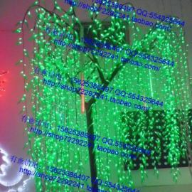 LED绿叶仿真柳叶树灯