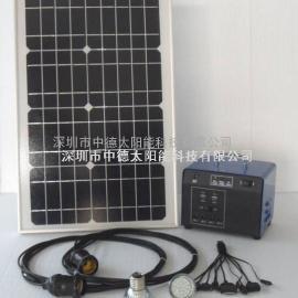 20瓦小型独立太阳能发电系统