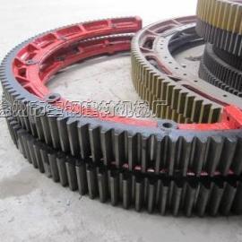 新疆煤质活性炭转炉大齿轮、滚圈、托轮配件