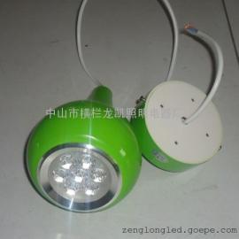 葫芦吊灯 LED吊线灯 7W吊灯 室内好看耐用装饰灯