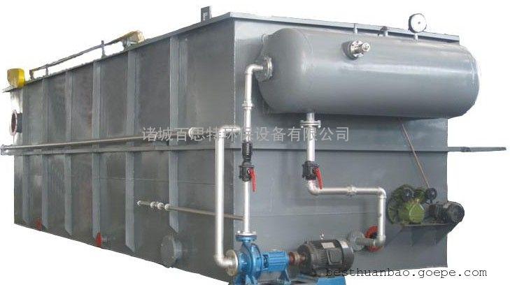 造纸污水处理设备 平流气浮机