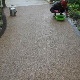 供应南京菏泽彩色透水混凝土-彩色透水地坪-艺术透水路面厂家