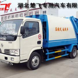 后压缩式生活垃圾运输车|3吨后装式垃圾压缩车