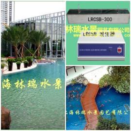 景观湖水处理设备_超声波控藻器
