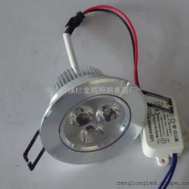 室内小射灯 LED天花灯 3W天花灯 高光面连体天花灯