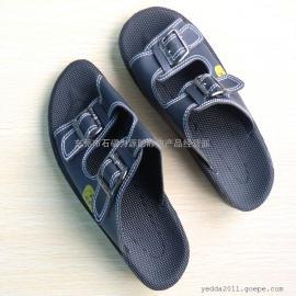 厂家直销优质防静电人造革PU拖鞋| 防静电鞋。