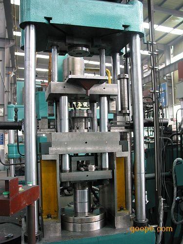 单柱式c型液压机,制造小型液压机图片