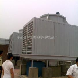 冷却塔/玻璃钢圆形低噪音冷却塔/玻璃钢方形横流冷却塔
