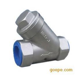 304不锈钢丝口过滤器 GL11W-16p Y型过滤器