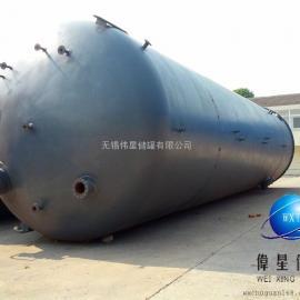 100立方钢塑复合罐,100吨钢衬塑储罐,100t钢塑罐