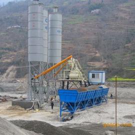 HZS75工程混凝土搅拌站