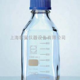 SCHOTT DURAN®方形瓶 /�c�}玻璃方形瓶