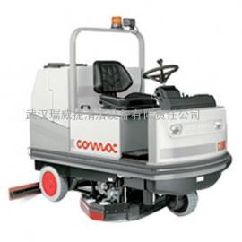 供应武汉全自动洗地机刷地机 驾驶式洗地车