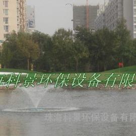 高尔夫球场水景净化增氧喷泉曝气机
