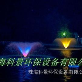 湖泊景观水处理曝气喷泉机
