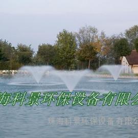 高尔夫球场湖泊水景处理喷泉曝气机
