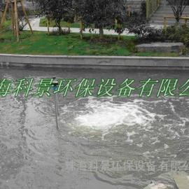 高尔夫球场河流污水处理防臭增氧推流曝气机