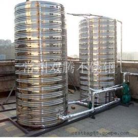 特价6吨304不锈钢圆柱形冷水箱酒店浴室专用储水罐