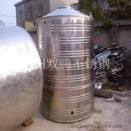 促销4吨304不锈钢圆柱形冷水箱酒店浴室专用储水罐