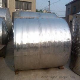 促销3吨304不锈钢圆柱形冷水箱浴室专用储水罐