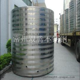 促销2吨304不锈钢圆柱形冷水箱浴室专用储水罐